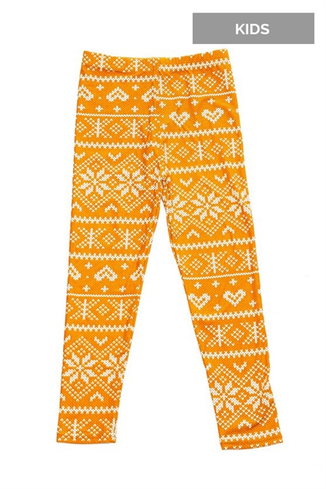 Picture of Kids Golden Sweater High Waist Leggings