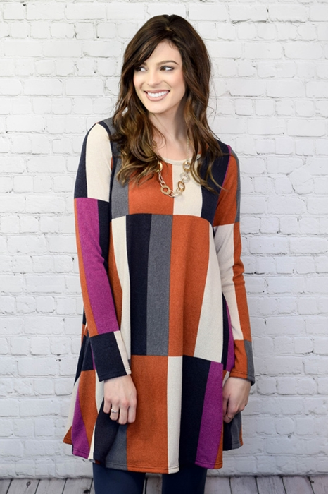Picture of Striped Swing Dress