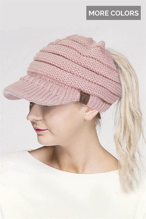 Picture of CC Messy Bun Brim Hat