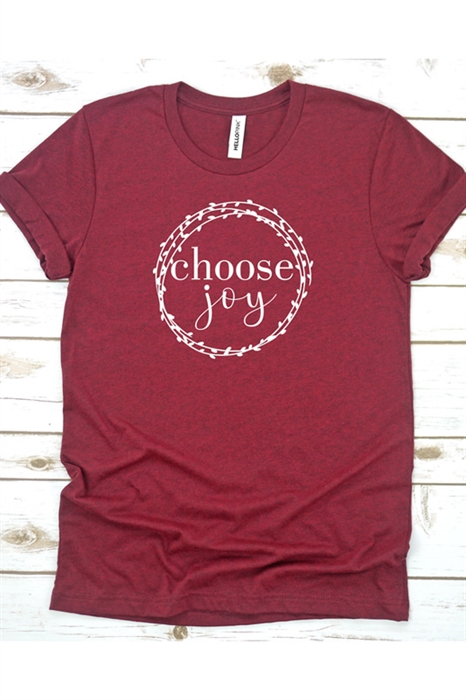 Picture of Choose Joy Graphic Tee