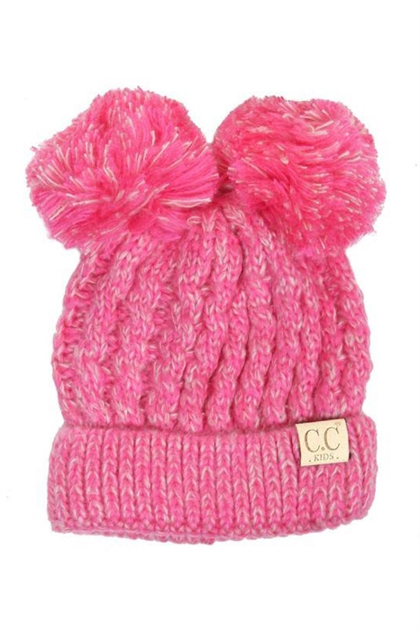 Picture of Kids Double Pom Beanies