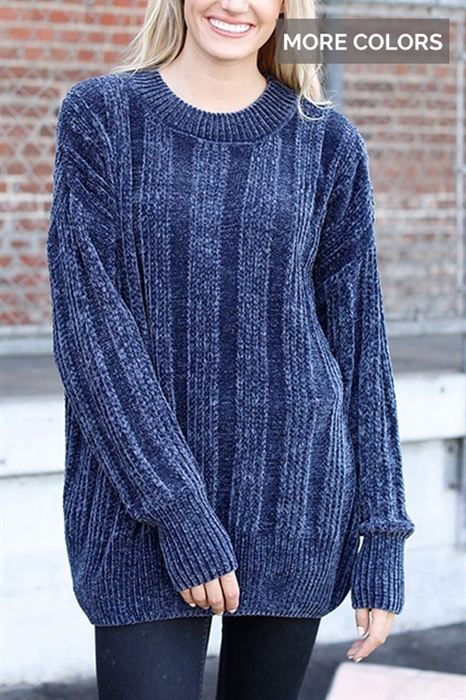 Picture of Chenille Chunky Sweaters