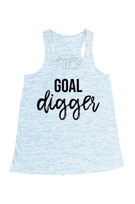 Picture of Goal Digger Flowy Graphic Tank