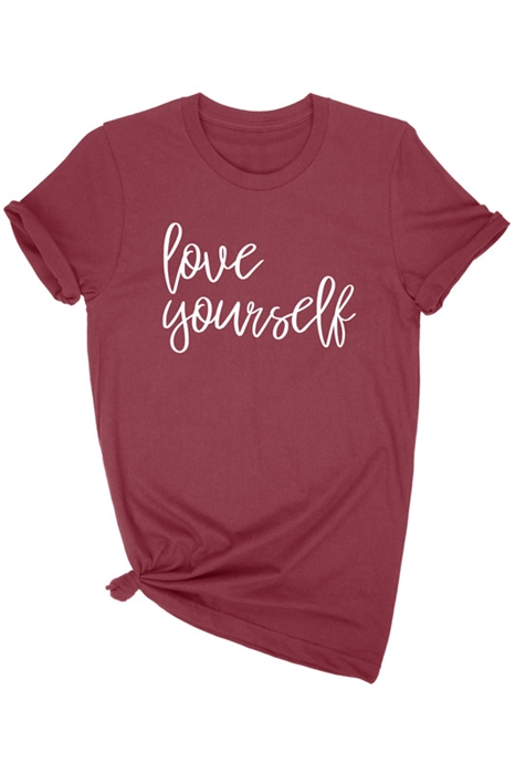 Picture of Love Yourself Graphic Tee