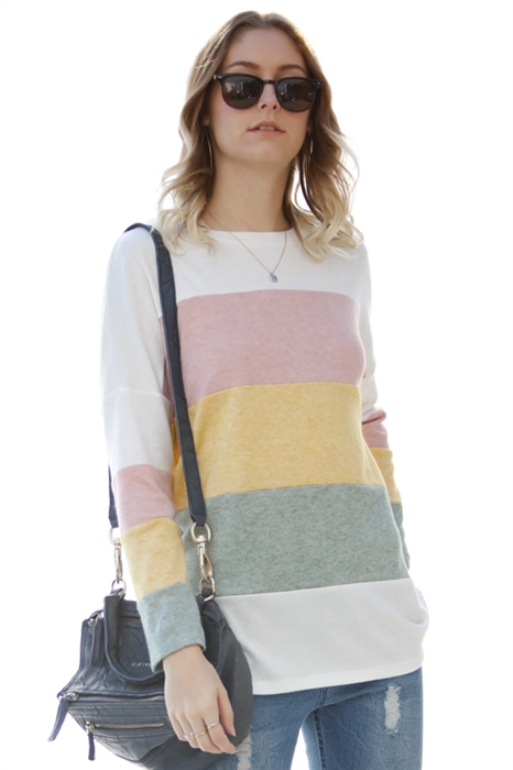 Picture of Mindy Colorblock Top