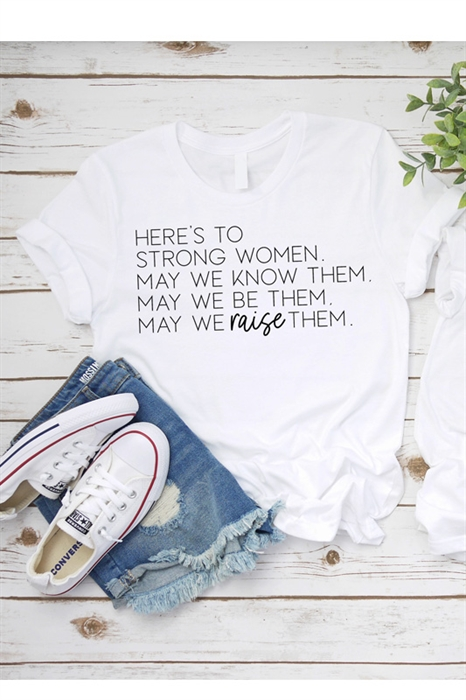 Picture of Strong Women Graphic Tee