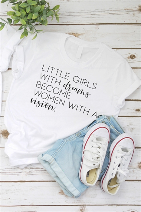 Picture of Little Girls With Dreams Youth Graphic Tee