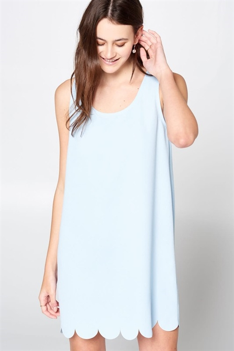 Picture of Lily Scalloped Dress
