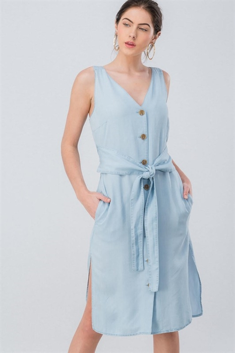 Picture of Chrissy Chambray Dress