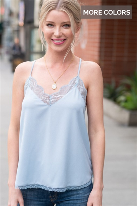 Picture of Delicate Honey Lace Cami