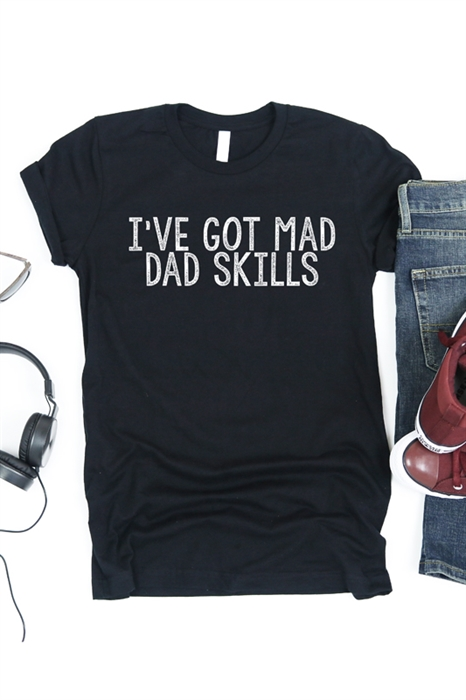 Picture of Mad Dad Skills Men's Graphic Tee