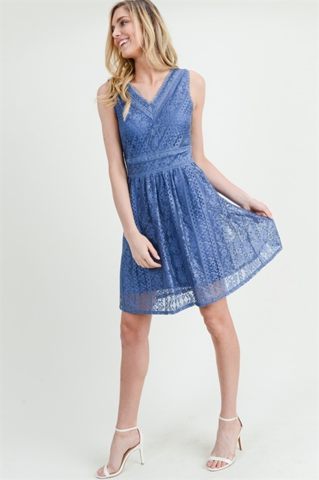 Picture of Lacey Flare Dress