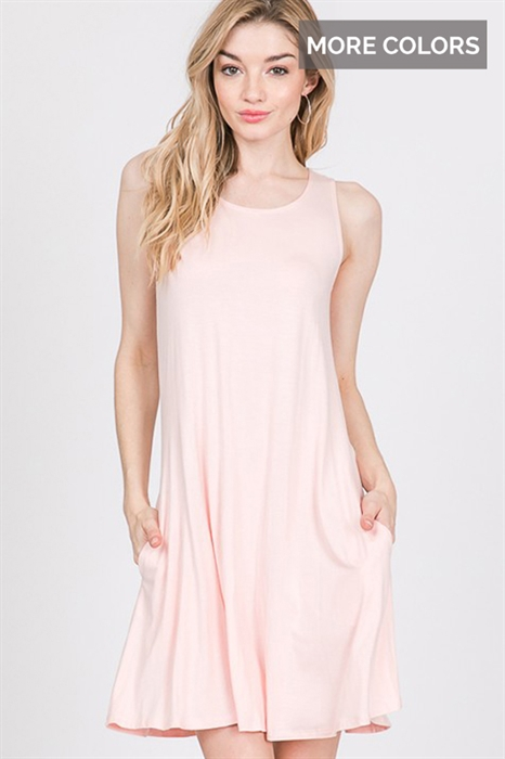 Picture of Sleeveless Pocket Dress