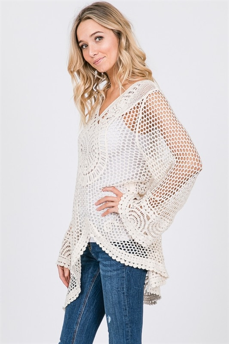 Picture of Crochet Boho Top