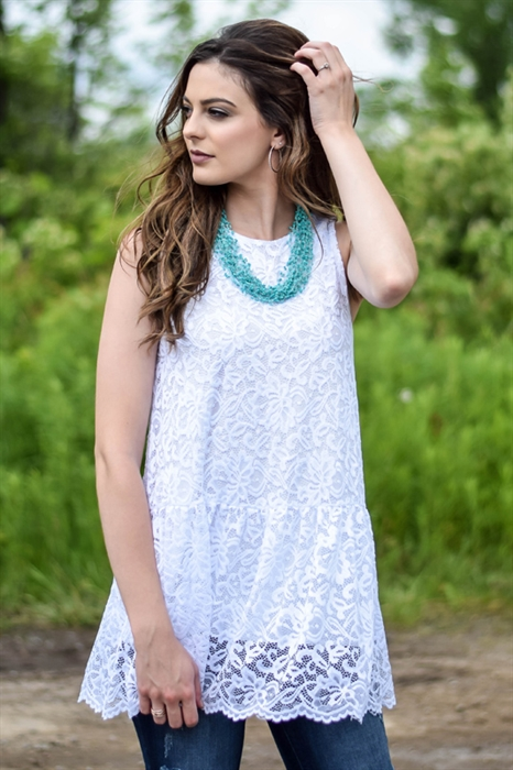 Picture of Janelle Lacey Sleeveless Top