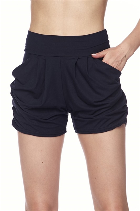 Picture of Soft Brushed Harem Shorts