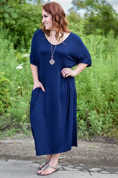 Picture of Dolman Midi Dress