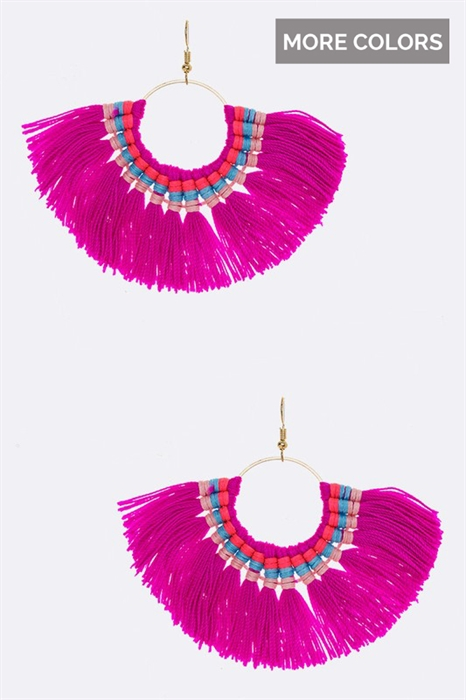 Picture of Iconic Tassel Earrings
