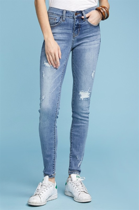 Picture of Judy Blue Mimi Mid-Rise Skinny Jeans