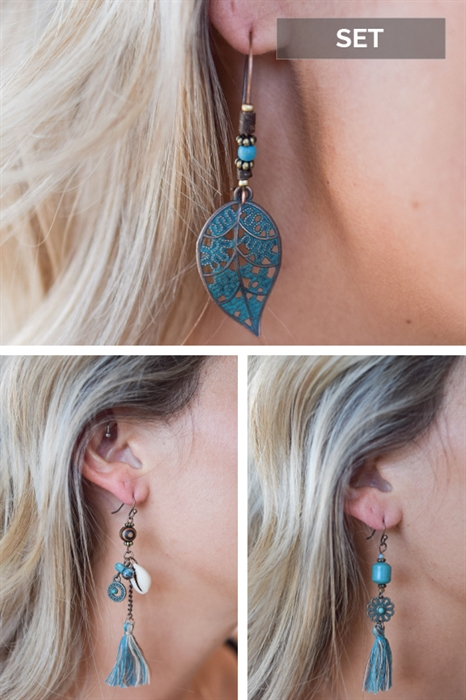 Picture of Naomi 3-Piece Earring Set