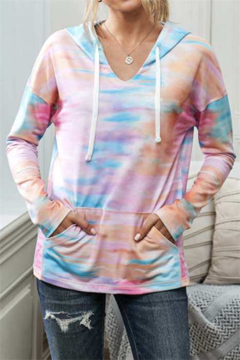 Picture of Pullover Tie Dye Hoodie
