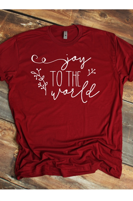 Picture of Joy To The World Graphic Tee