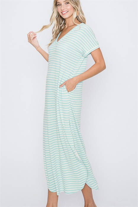 Picture of Elouise Striped Maxi 🇺🇸