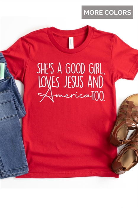 Picture of She's A Good Girl Graphic Tee