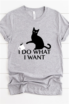Picture of I Do What I Want Graphic Tee
